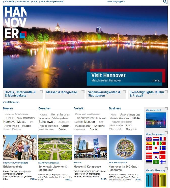 Visit-Hannover.com - Hannovers neue internationale Seite!