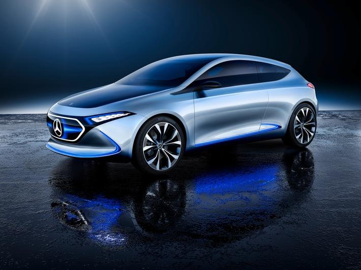 Le show car Mercedes-Benz Concept EQA
