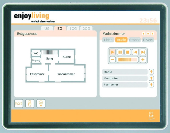 Innovative Home Automation an der Messe Bauen & Modernisieren 2005