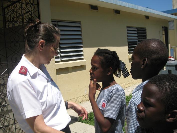 Haiti: Die Heilsarmee hilft weiter