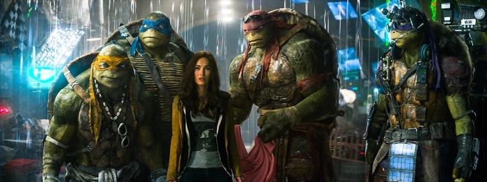 """Gar nicht lahm: """"Teenage Mutant Ninja Turtles"""" am 18. September 2016 auf ProSieben"""