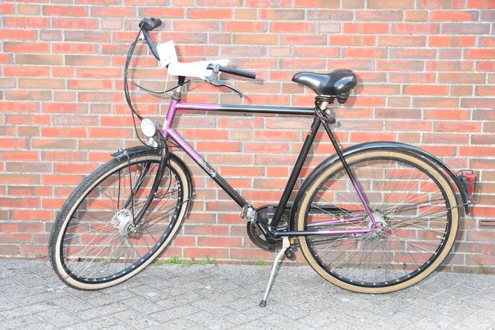 POL-DEL: Landkreis Wesermarsch: Polizei Nordenham sucht Eigentümer eines Fahrrads