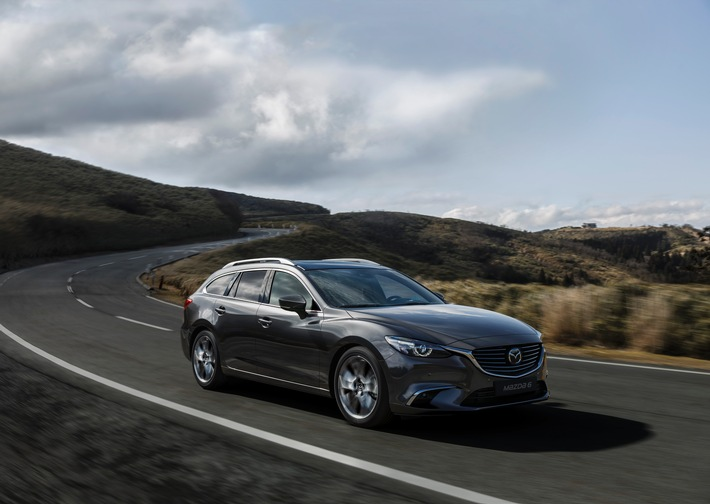 Mazda6 2017 Mehr Fahrspass Mehr Komfort Mehr Sicherheit Und