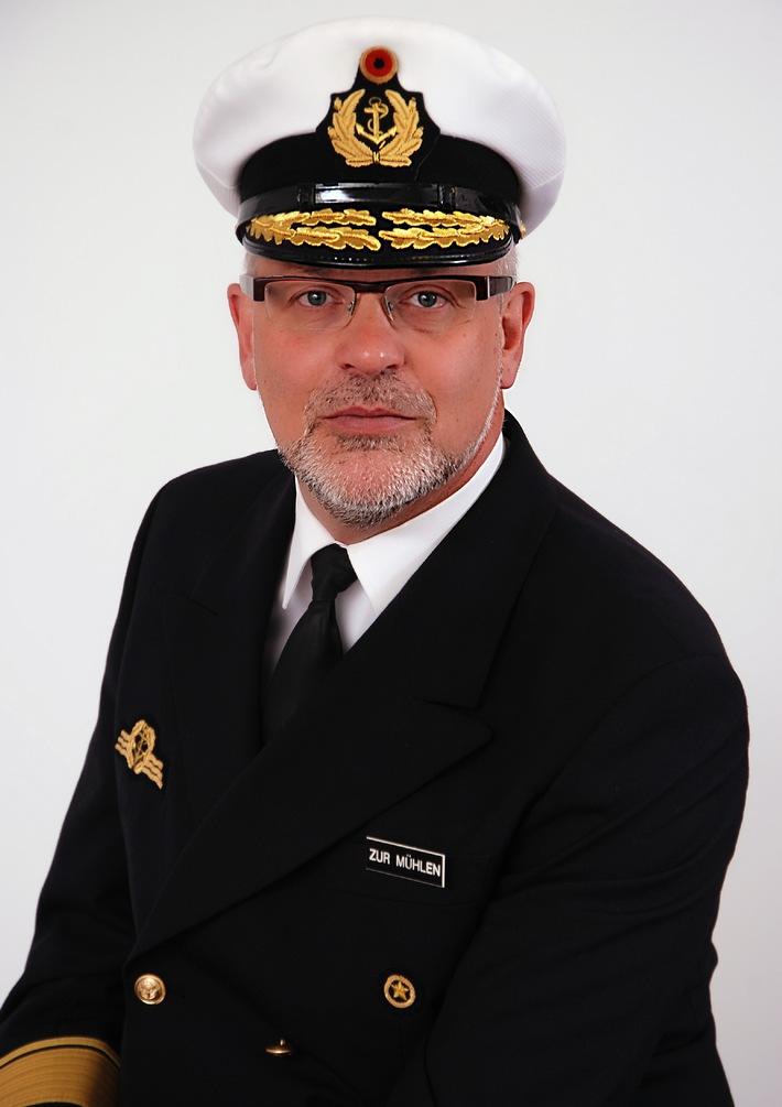 Flottillenadmiral Jürgen zur Mühlen