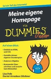 """Cover """"Meine eigene Homepage für Dummies"""""""