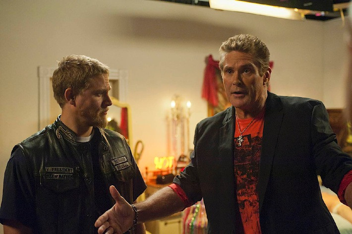 "Bikerdress statt Badehose: ""The Hoff"" bei ""Sons of Anarchy"""
