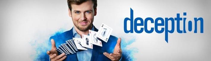 """Magie des Verbrechens: SAT.1 zeigt die neue Crime-Serie """"Deception"""" ab 19. Juli 2018"""