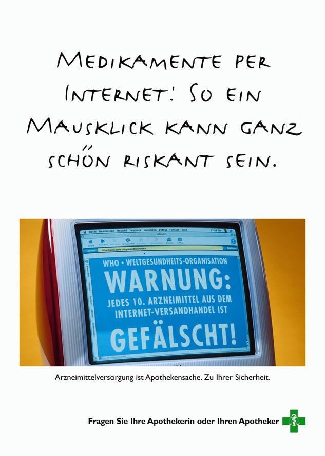 Apothekerverband: Medikamente per Internet - Ein Medikament ist keine Hose