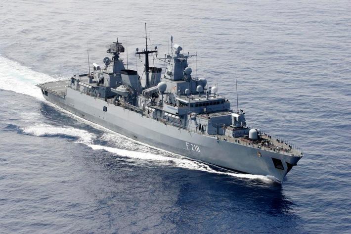 """Ab September im Mittelmeereinsatz - Auslaufen der Fregatte """"Mecklenburg Vorpommern"""""""