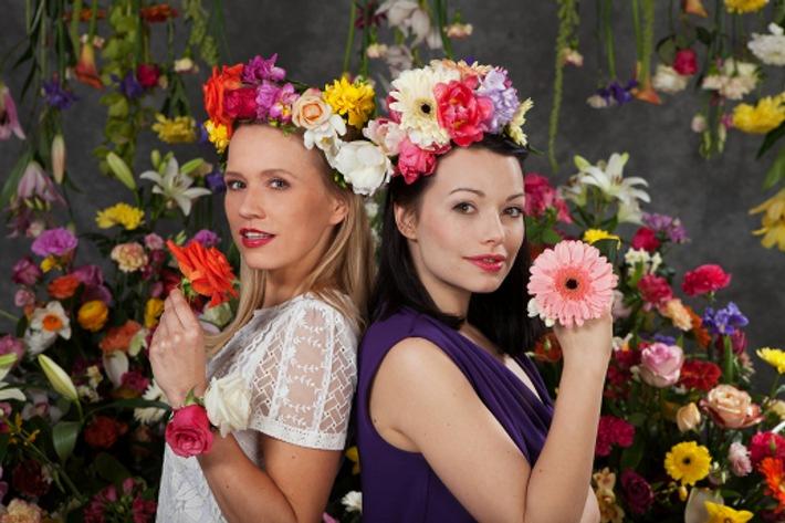 Freundinnen kennen ihre Lieblingsblumen / Die Blumengeheimnisse von Cosma Shiva Hagen und Nova Meierhenrich