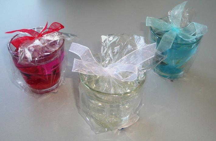Migros rappelle des bougies de cire gel en verre