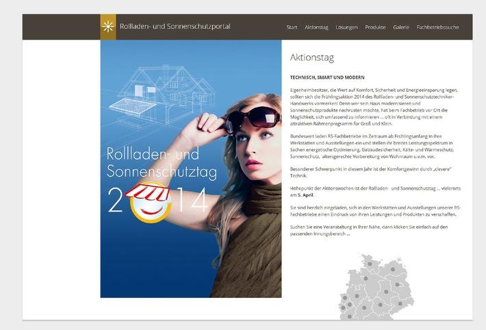 Relaunch der R+S-Internetseite / Rollladen- und Sonnenschutz im neuen (Web-)Gewand