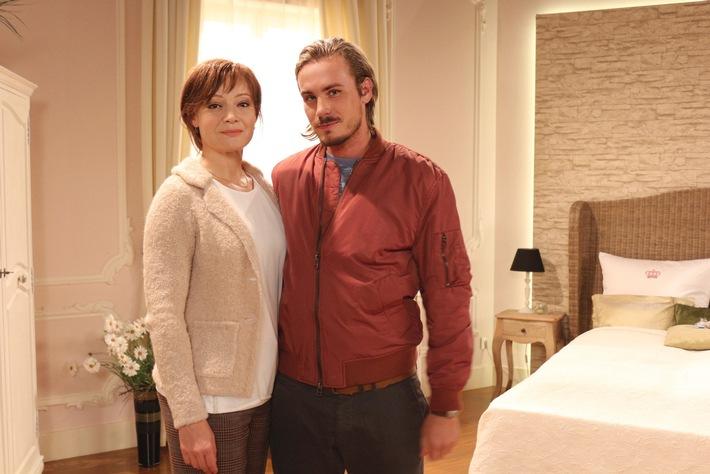 """Das Erste: """"Sturm der Liebe"""": Familienbande Marion Mitterhammer und Alexander Milz sind ab 18. November als William und Susan Newcombe zu sehen"""
