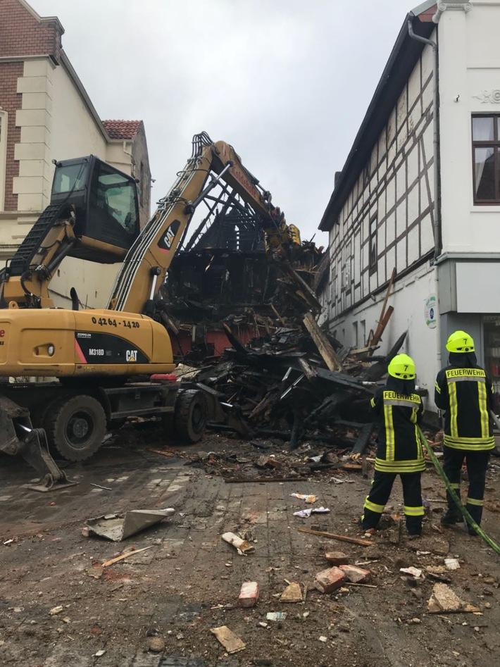 ▷ POL-VER: ++Nach Großfeuer in der Verdener Innenstadt