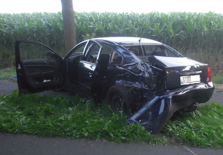 Unfallfahrzeug Groß Sterneberg