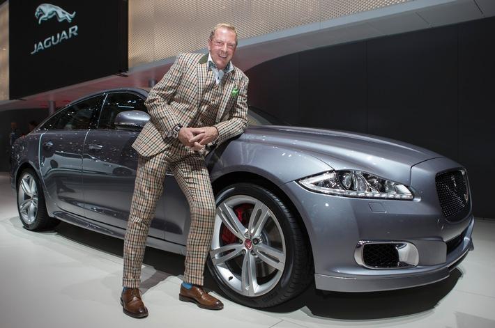 Kurt Aeschbacher in Genf zu Besuch bei Jaguar (Bild)