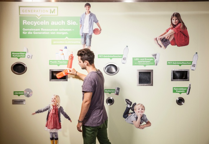 Migros remporte le Swiss Recycling Award