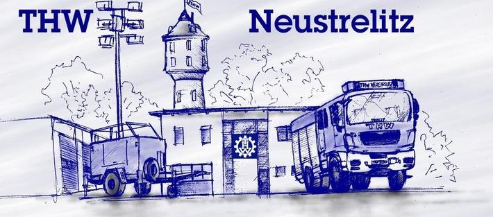 THW-HH MV SH: THW - Tag der offenen Tür beim THW Ortsverband Neustrelitz