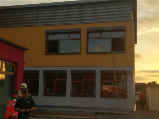 POL-PDMT: Brand in der Real-Schule Plus