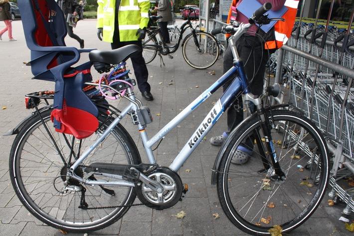 POL-HX: Mann mit entwendeten Fahrrad angetroffen
