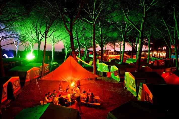 Camping-Hype bei Jugendlichen / Vom Zelten in freier Wildnis bis zum Glamping ist alles gefragt