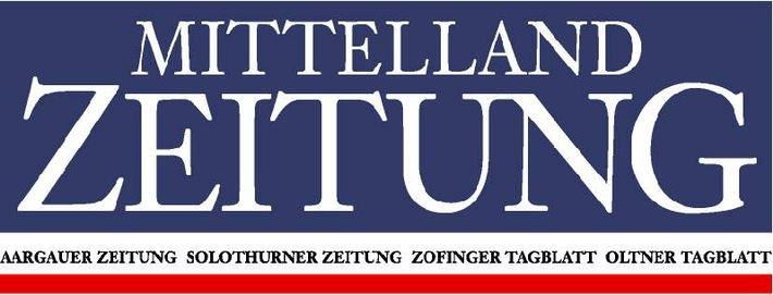 """""""Mittelland Zeitung""""- Partner bereits mit einheitlichem Layout"""