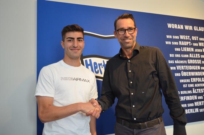 Hertha BSC bindet Muhammed Kiprit