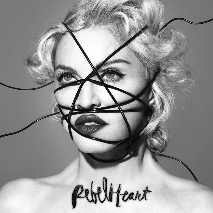 """Madonna Deluxe-CD """"Rebel Heart"""". Weiterer Text über ots und www.presseportal.de/pm/58621 / Die Verwendung dieses Bildes ist für redaktionelle Zwecke honorarfrei. Veröffentlichung bitte unter Quellenangabe: """"obs/Universal International Division/Universal Music International"""""""