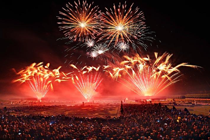 Portugiesisches Team gewinnt den 22. Internationalen Feuerwerkswettbewerb in Hannover (BILD)