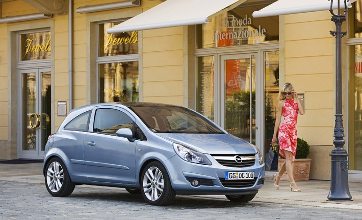 General Motors continues successful trend in Europe. All-new Corsa: Already 73,600 ordered.