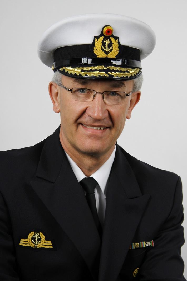 Befehlshaber der Flotte - Vizeadmiral Manfred Nielson