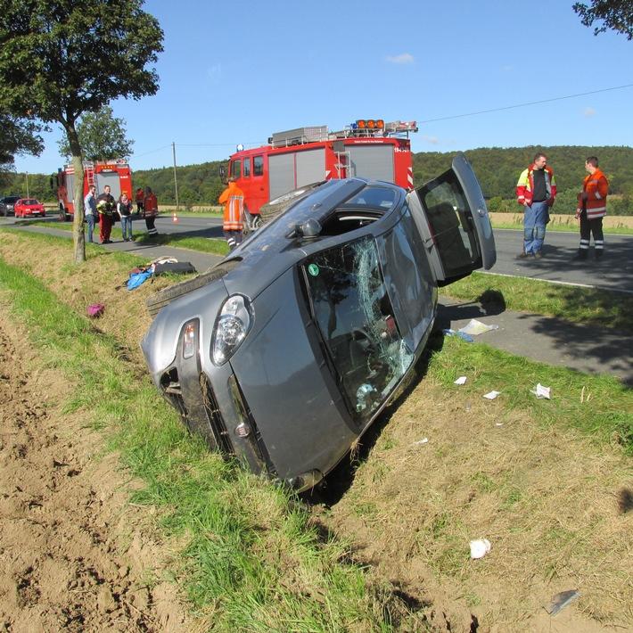 Unfallfahrzeug (Foto: Polizei)