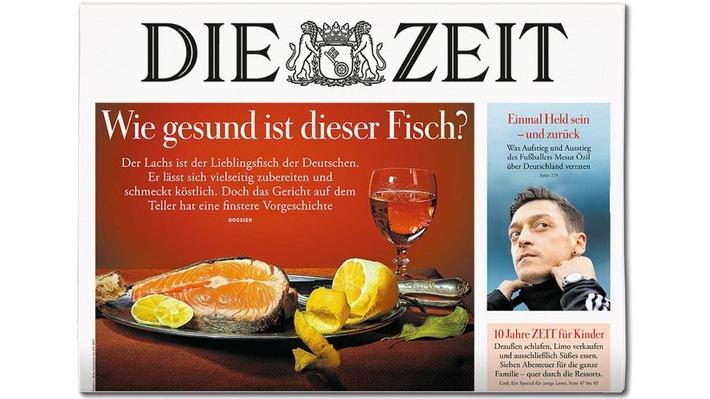 Cover DIE ZEIT 31_18. Weiterer Text ber ots und www.presseportal.de/nr/9377 / Die Verwendung dieses Bildes ist fr ...