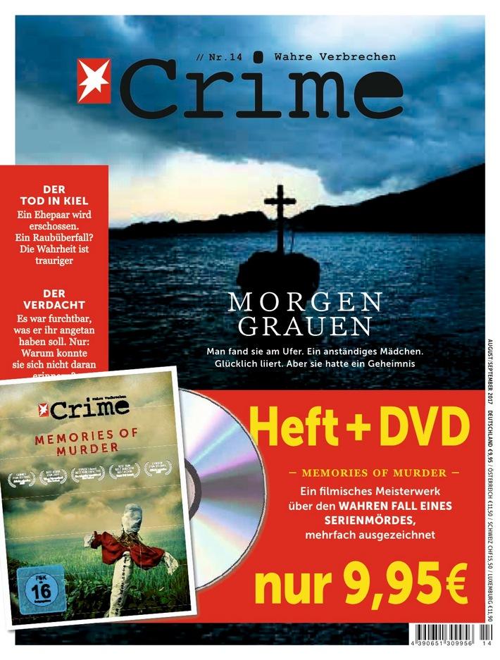 """CRIME erscheint in Teilauflage mit Film-DVD """"Memories of Murder"""""""