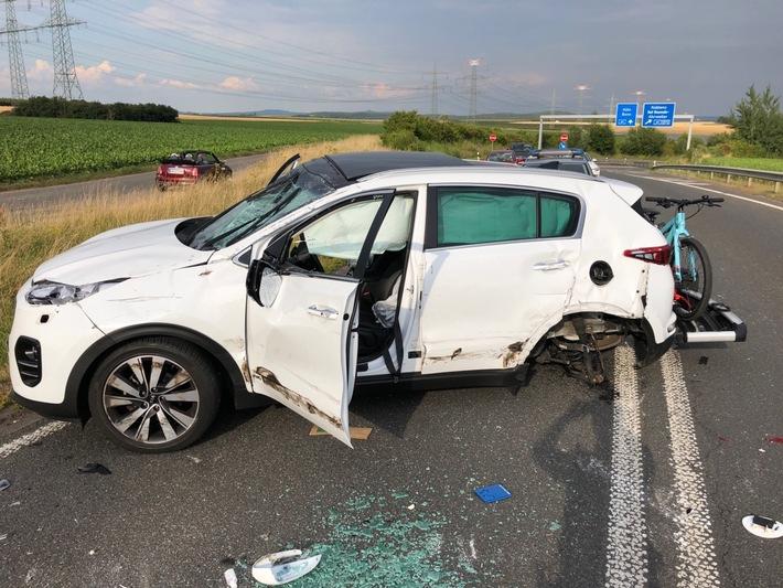 Unfall - Beller Kreisverkehr - SUV