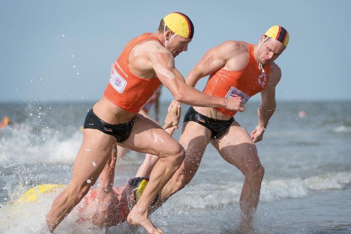 Weltmeisterschaft im Rettungsschwimmen / DLRG Nationalteam sammelt zehn Medaillen und beendet das Turnier auf Platz vier