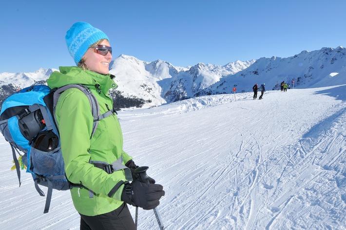 Im Alpbachtal genießt man butterweichen Firn und dazu viel Sonnenschein!