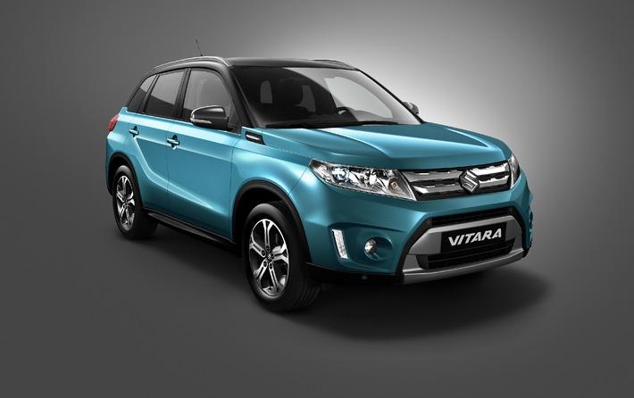 Suzuki feiert Weltpremiere des neuen Vitara auf der Mondial de l'Automobile 2014 in Paris