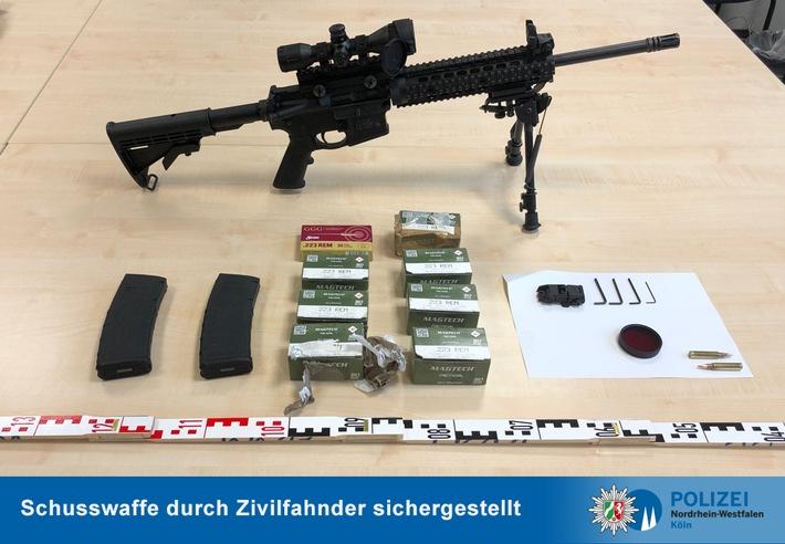 POL-K: 201002-5-BAB Mit Selbstladegewehr im Kofferraum unterwegs - Festnahme