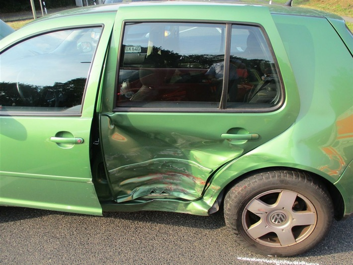 POL-RBK: Leichlingen - vier Verletzte im Stadtgebiet
