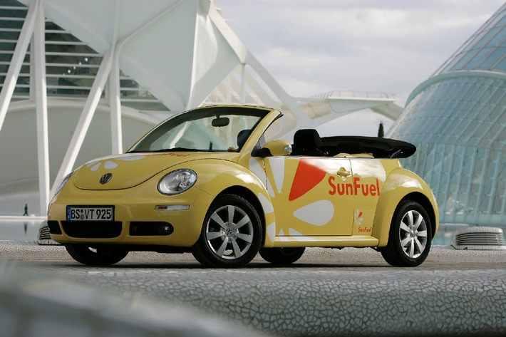 World Mobility Forum 2007 in Stuttgart: Volkswagen AG forciert Biokraftstoffe der 2. Generation