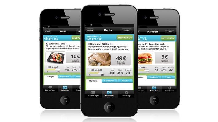 ▷ Groupon launcht kostenlose iPhone App in Deutschland (mit