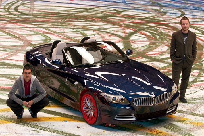 Exklusive Deutschland-Premiere des neuen BMW Z4 Roadster mit Modenschau von Michael Michalsky und Statements von Robin Rhode