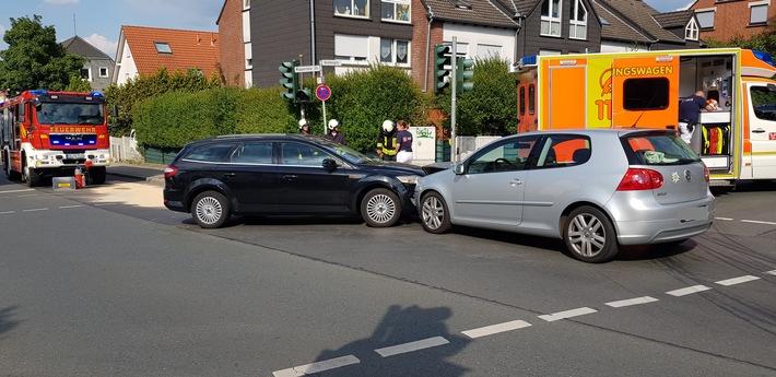 Verkehrsunfall Bild 1