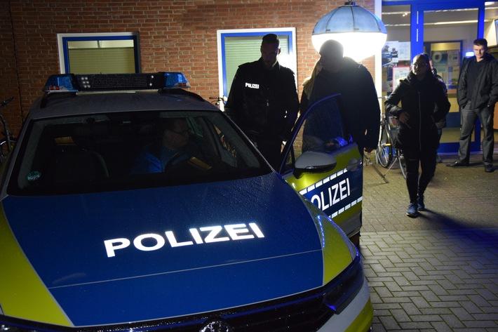 Polizeifahrzeuge live erleben.