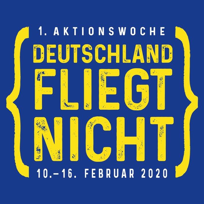 Deutschland fliegt nicht / Bundesweite Initiative gegen Inlandsflüge startet am 11.11.2019 im Frankfurter Flughafen