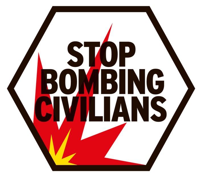 "7. Jahrestag des Syrienkonflikts / HI fordert: ""Stop Bombing Civilians""!"