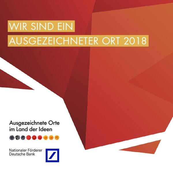 Das Fraunhofer IAF ist ein »Ausgezeichneter Ort im Land der Ideen« 2018. Prämiert wurde die Entwicklung des winzigen Quantensensors aus Diamant.