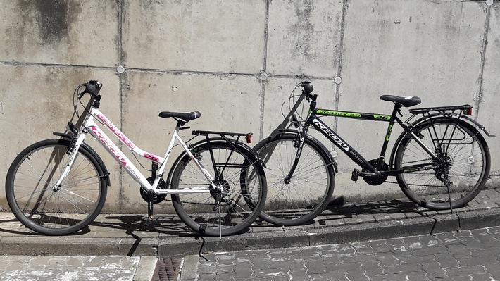 POL-HOL: Polizei sucht Besitzer zweier Fahrräder