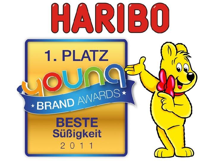 YoungBrandAwards 2011 - HARIBO ist Deutschlands beliebteste Jugendmarke